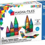 Magna-Tiles Clear Colors 100 Piece Set Only $89.99