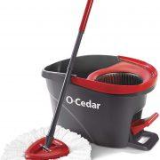 O-Cedar EasyWring Microfiber Spin Mop & Bucket Only $19.98