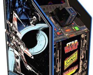 Arcade1Up Star Wars Home Arcade Cabinet with Custom Riser $371.99
