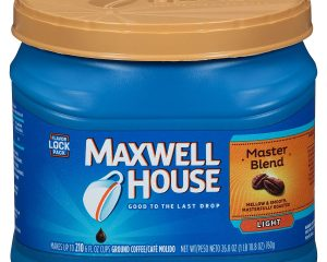Maxwell House Master Blend Ground Coffee (26.8 oz Canister) by MAXWELL HOUSE $4.37