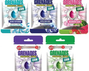 Thursday Freebies-Free Sample of Grenades Gum