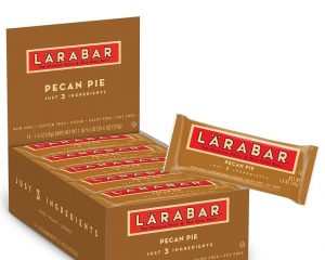 Larabar Gluten Free Bar, Pecan Pie, 1.6 oz Bars (16 Count), Whole Food Gluten Free Bars, Dairy Free Snacks $10.20