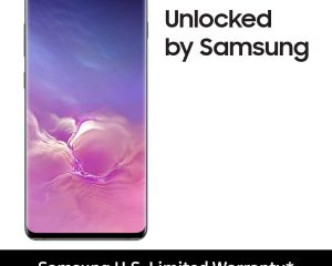 Samsung Galaxy S10+ Plus Phone with 128GB – Prism Black $699