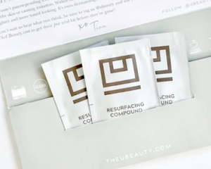 Friday Freebies-Free U Beauty Resurfacing Compound Skincare Sampler-