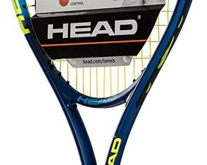 HEAD Ti. Conquest Tennis Racket – Pre-Strung Head Light Balance 27 Inch Racquet – 4 1/4 In Grip $10.97