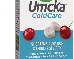 Nature's Way Umcka ColdCare Shortens Duration & Reduces Severity, Cherry Flavored, 20 Chewables $3.96