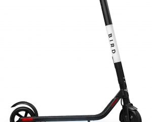 Bird ES1-300 Electric Scooter with 300 Watt Motor and Digital LED Display, Black (Renewed) $289.99
