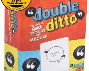 Inspiration Play Double Ditto Family Party Board Game $14.04