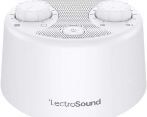 LectroSound White Noise Machine for Sleep and Relaxation $13.51