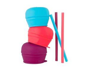 Boon SNUG Straw, Pink/Purple/Blue $4.49