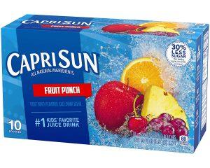 Capri Sun Fruit Punch Juice Drink, 60 Fl. Oz (Pack of 4) $6.64