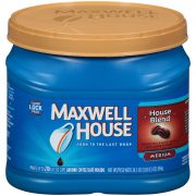 Maxwell House House Blend Ground Coffee (24.5 oz Canister) $5.59