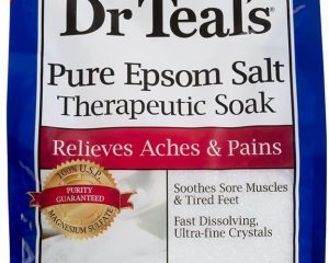 Dr Teal's Therapeutic Solutions Pure Epsom Salt Soaking Solution 6 Lb Bag $4.14