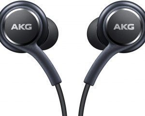 Samsung Earphones Corded Tuned by AKG (Galaxy S8 and S8+ Inbox replacement), Grey $8.98