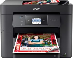 Epson Workforce Pro WF-3730 All-in-One Wireless Color Printer Only $89.99