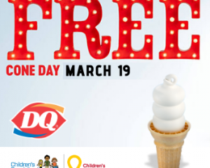 Tuesday Freebies-Dairy Queen Free Cone Day on March 19th