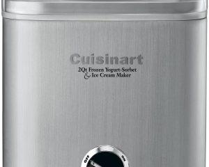 Cuisinart ICE-30BC Pure Indulgence 2-Quart Automatic Frozen Yogurt, Sorbet, and Ice Cream Maker – Silver $44.09