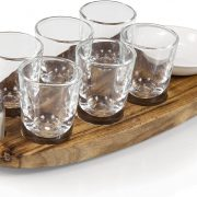 Legacy-A Picnic Time Brand Cantinero 6-Shot Glass Serving Set $12.99