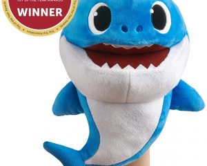 WowWee Pinkfong Baby Shark Official Song Puppet with Tempo Control – Daddy Shark – Interactive Preschool Plush Toy $7.55