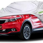"""Bliifuu Car Cover,SUV Protection Cover Breathable Outdoor Indoor for All Season All Weather Waterproof/Windproof/Dustproof/Scratch Resistant Outdoor UV Protection Fits SUV Car (190""""Lx75""""Wx72""""H) $32.99"""