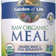 Garden of Life Meal Replacement Vanilla Powder, 28 Servings, Organic Raw Plant Based Protein Powder, Vegan, Gluten-Free $20.47
