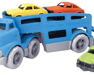 Green Toys Car Carrier Vehicle Set Toy, Blue (Renewed) $13.51