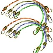 Keeper (06052 10″ Mini Bungee Cord, (Pack of 8) $2.05