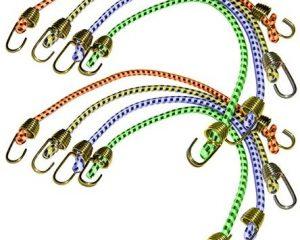 Keeper (06052 10″ Mini Bungee Cord, (Pack of 8) $2.05