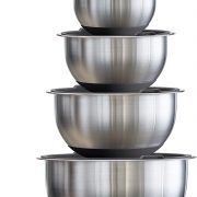 Tramontina Stainless Steel Mixing Bowls, 14 Pc Only $29.98