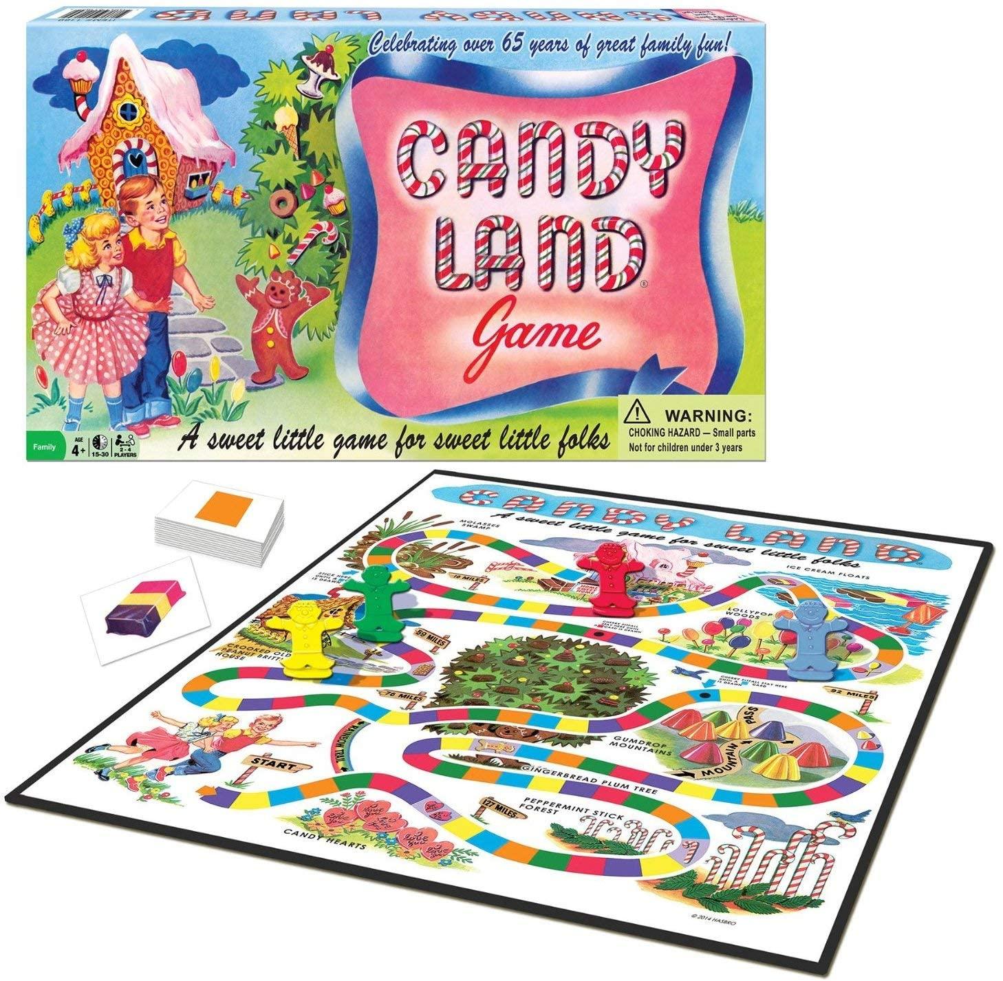 Jogo de 65 anos do Candy Land $ 11,99 22