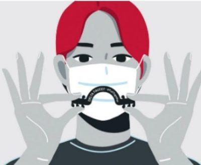 Brindes de sábado - 4 protetores de orelha de máscara facial grátis 2