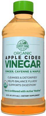 Country Farms Apple Cider Vinegar Tonic, 16 onças fluidas $ 4,40 2