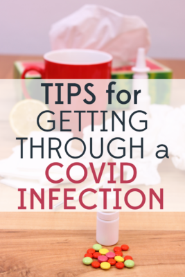 Recently tested positive for COVID? Don't panic! Follow our tips for getting through a COVID infecton to stay both healthy and sane.